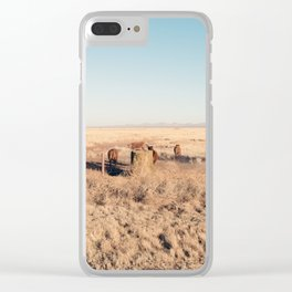 West Texas Stampede Clear iPhone Case