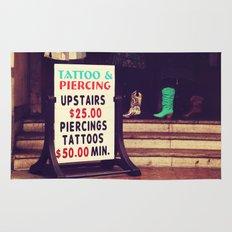 Tattoo & Piercing Rug