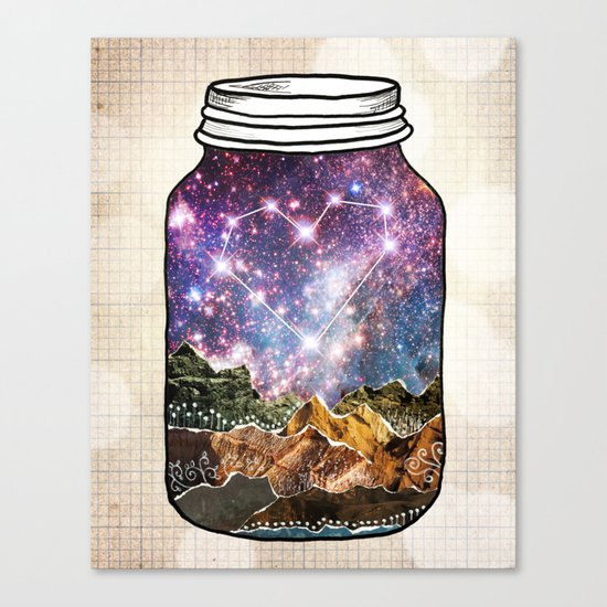 Love Can Move Mountains Canvas Print