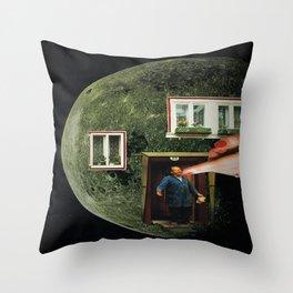 """""""MoonMan"""" Throw Pillow"""