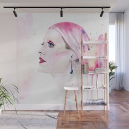 Rayon | Jared Leto in Dallas Buyers Club | Watercolor Portrait Wall Mural