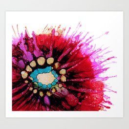 Pink Shadow Art Print