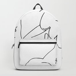 Pablo Picasso Peace (Dove and Face) T Shirt, Sketch Artwork Backpack