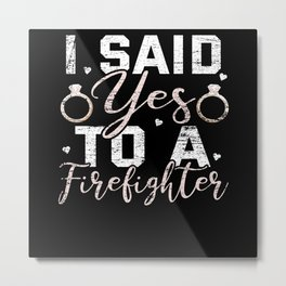 Engagement Metal Print