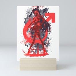 Mars kanji Mini Art Print