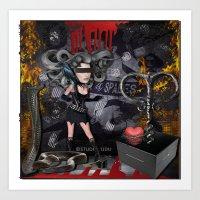 Death Trap Art Print