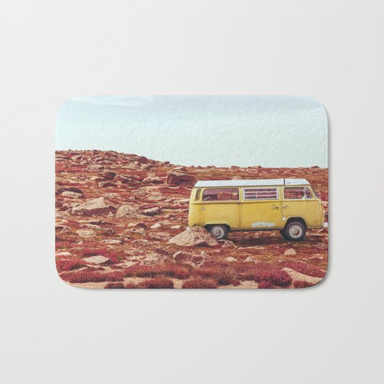 yellow Camper Bath Mat