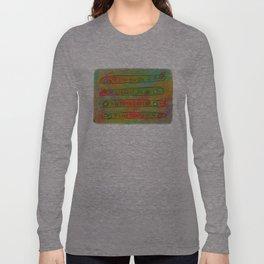 Positive Logger - Longboard Surfboards - Happy Surfers Long Sleeve T-shirt
