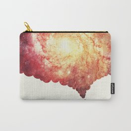 The universe in a soap-bubble! (Awesome Space / Nebula / Galaxy Negative Space Artwork) Carry-All Pouch