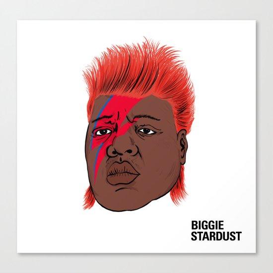 Biggie Stardust Canvas Print
