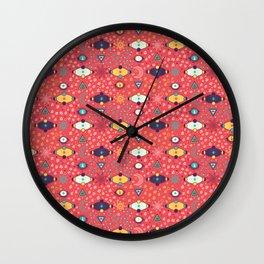 Cosmos Pattern Wall Clock