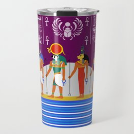 Egyptian Night Travel Mug