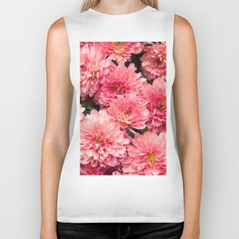 Autumn Kiss Chrysanthemums #1 #floral #art #Society6 Biker Tank
