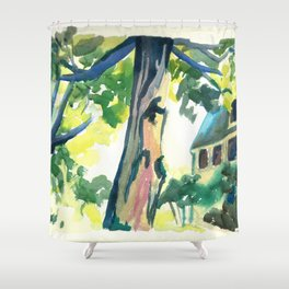 The Old Manse Shower Curtain
