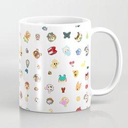 animal crossing pattern Coffee Mug
