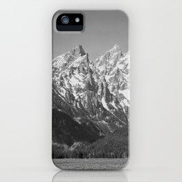 Ansel Adams - Grass Valley and Grand Tetons iPhone Case