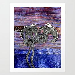 BirdLand Art Print