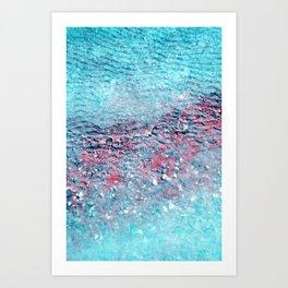 frozen III Art Print