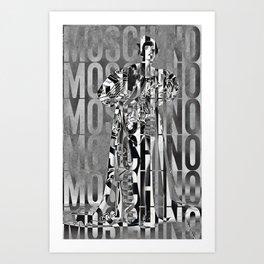 obsessed moschino Art Print