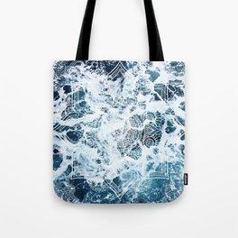Ocean Mandala - My Wild Heart Tote Bag