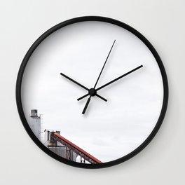 La contamination 2 Wall Clock