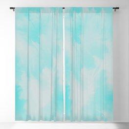 cloudy tie dye Blackout Curtain