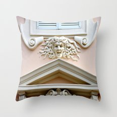 Monaco Facade Throw Pillow