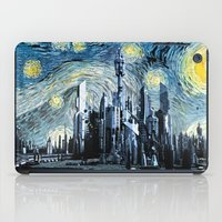 stargate iPad Cases featuring Starry Night Over Atlantis by Jackdoc