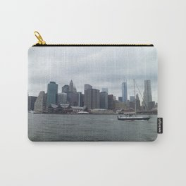 Nyc Skyline Hudson River Carry-All Pouch