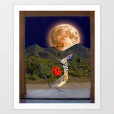 Beep Beep - Happy Halloween from Arizona Art Print