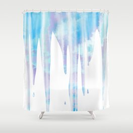 Frosty Icicles Shower Curtain