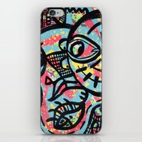 cheshire iPhone & iPod Skins featuring Cheshire by Lisa Brown Gallery