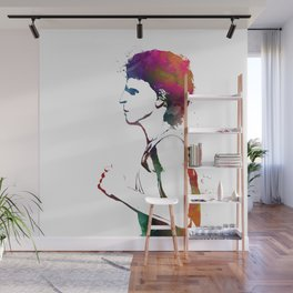Jogging sport art #jogging #sport Wall Mural
