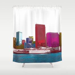 San Francisco City Shower Curtain