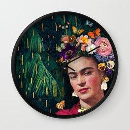 Frida Kahlo :: World Women's Day Wall Clock