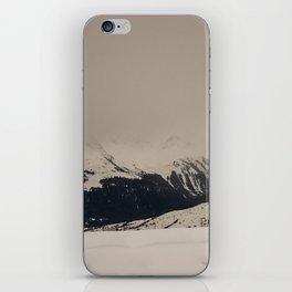 Mont Blanc vintage iPhone Skin