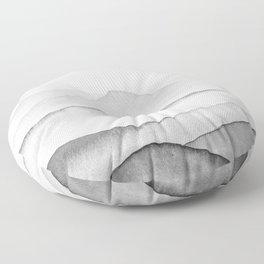 Black Mountains Floor Pillow