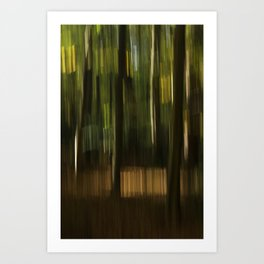 autumn abstract #1o Art Print