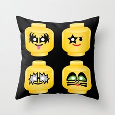 Block 'n' Roll Throw Pillow