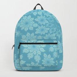 Pastel delicate leaves Backpack