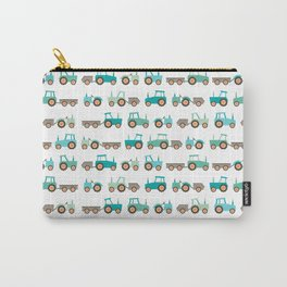 Tractors on white Carry-All Pouch