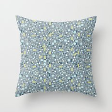 Teaming with Life Throw Pillow