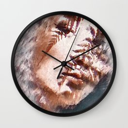 Girl Face Wall Clock