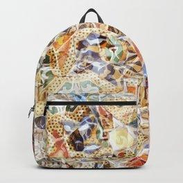 Mosaic of Barcelona IV Backpack