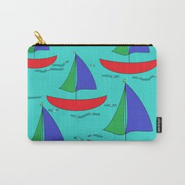 Five Sails Carry-All Pouch