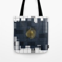 square Tote Bags featuring Square by thinschi