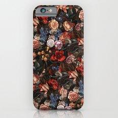 Vintage Summer Floral Slim Case iPhone 6