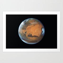 Mars planet Art Print