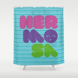 Hermosa 01 Shower Curtain