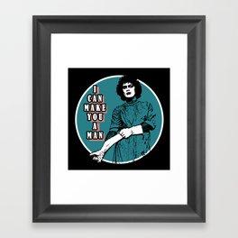 Rocky Horror - I can make you a man Framed Art Print